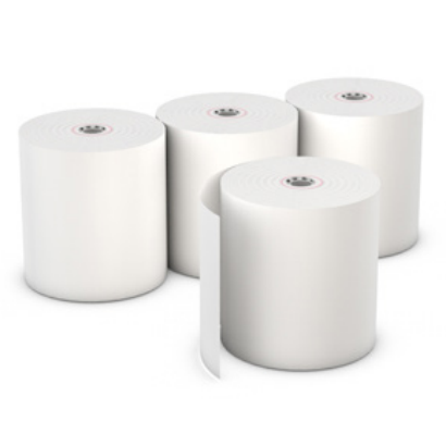 "Register roll, thermal paper, 1-ply, color: white, size: 3.12"" x 220', 50/cs"