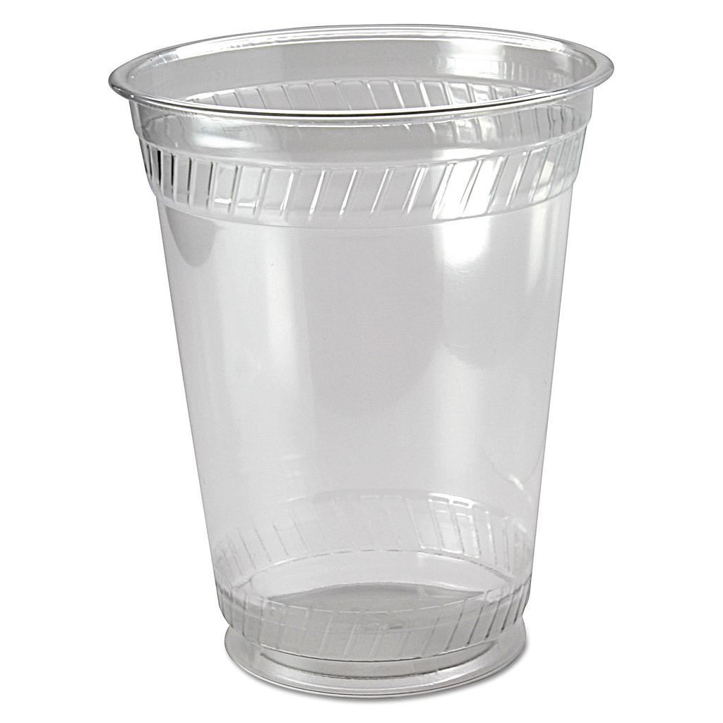 16 oz PLA cold cup, Color: Clear, Compostable, 1000/cs