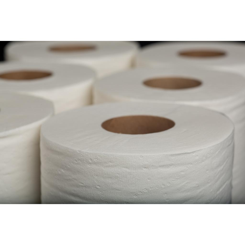"Bathroom Tissue, Double-Layer, Color: white, Sheet Size: 3.94""x3.5"", 850 sheets/roll; 7817 sq ft/cs; 96 rolls/cs"