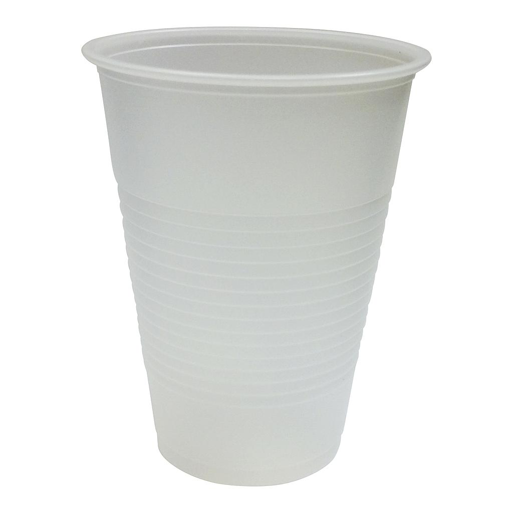 10 oz Polystyrene cold cup, Color: translucent, 1500/cs