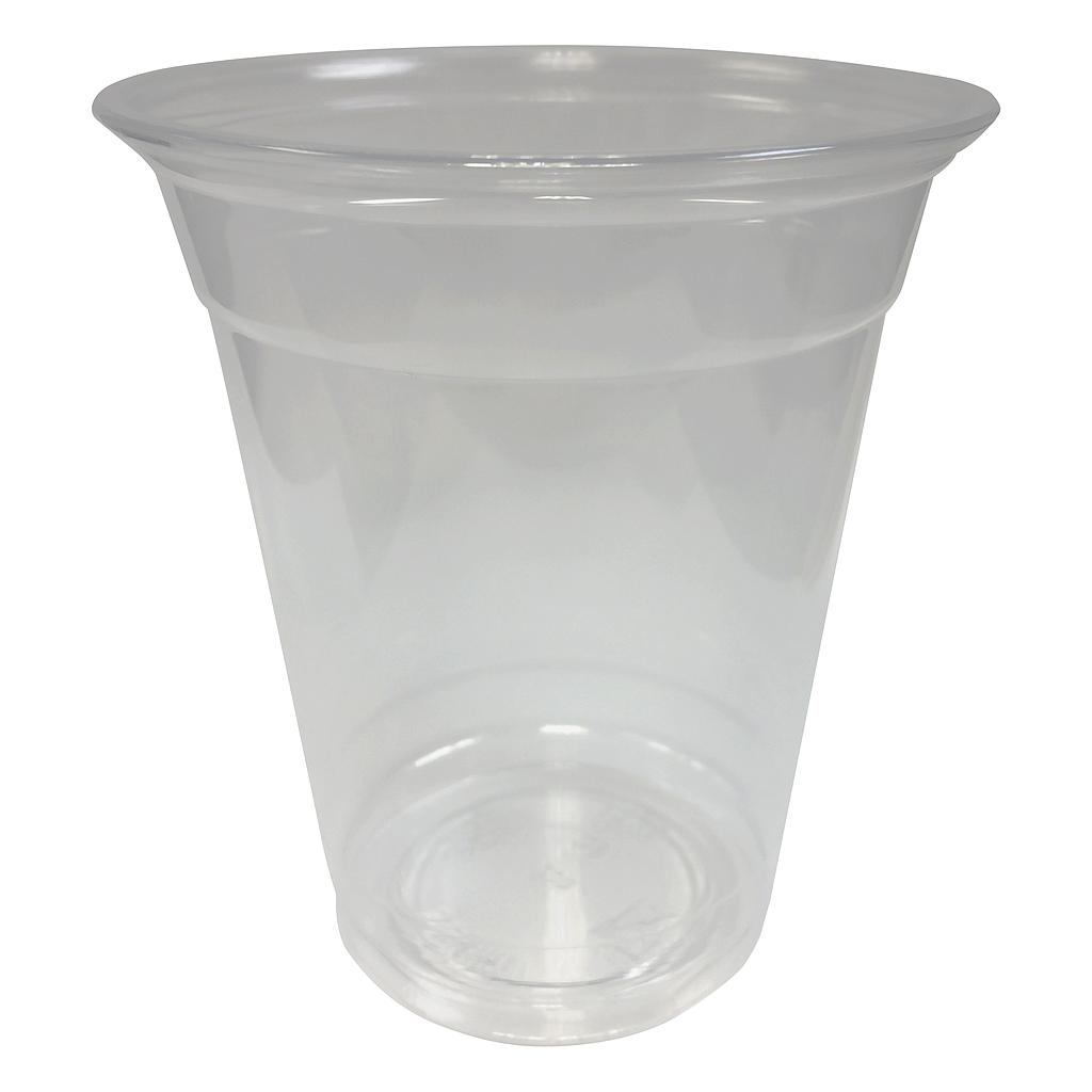 12 oz PET cold cup, Color: clear, 1000/cs