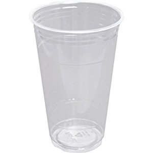 24 oz PLA cold cup, Color: Clear, Compostable, 600/cs