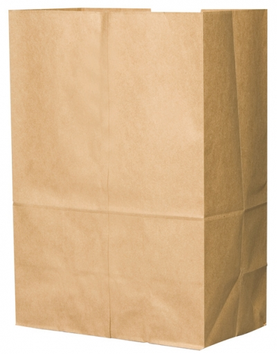 3# Grocery Paper Bag, Size: 4.75x2.94x8.56, Color: Natural, 500/cs