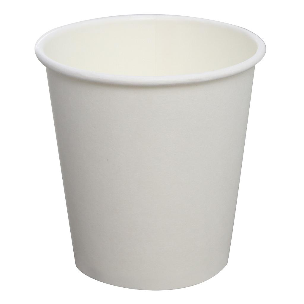 8 oz hot cup, Color: White, Material: Paper, 1000/cs