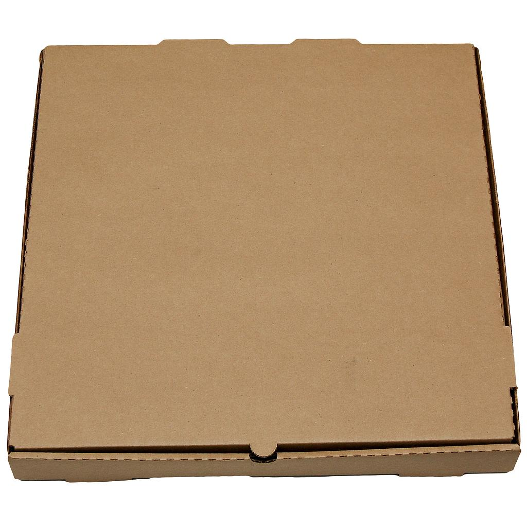 Pizza box, Size: 18x18x1.88, Color: Kraft / Kraft, B-Flute, 50/bundle