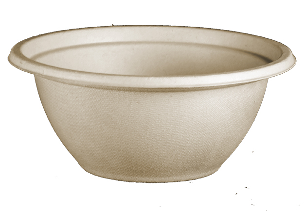 *SPECIAL ORDER ITEM* 32 oz Plant Fiber Bowl, Color: Natural, Compostable, 500/cs *ESTIMATED DELIVERY 4 TO 6 WEEKS* (NOT RETURNABLE)