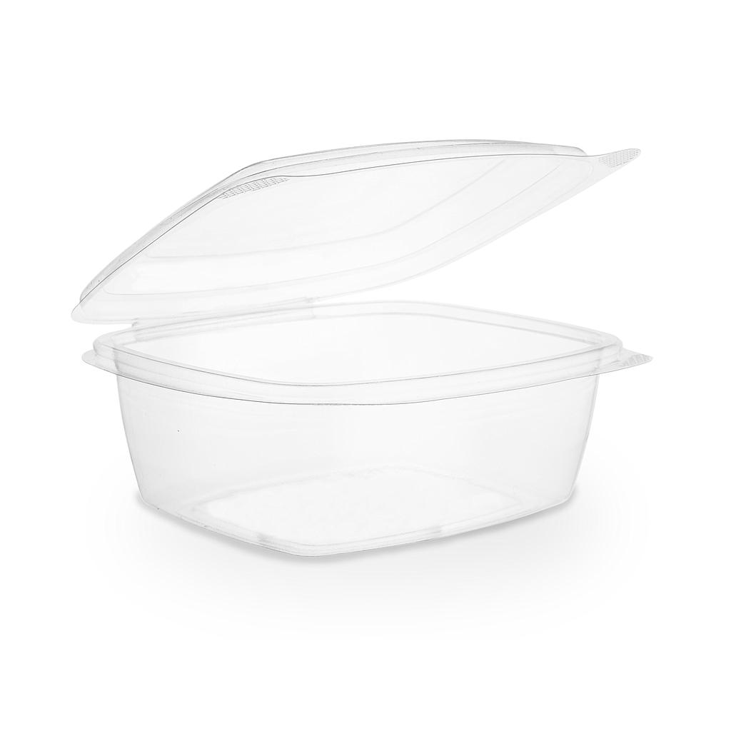 *SPECIAL ORDER ITEM* 24 oz PLA Hinged Lid Deli Container, Color: Clear, Compostable, 200/cs *SEE DETAILS BELOW*