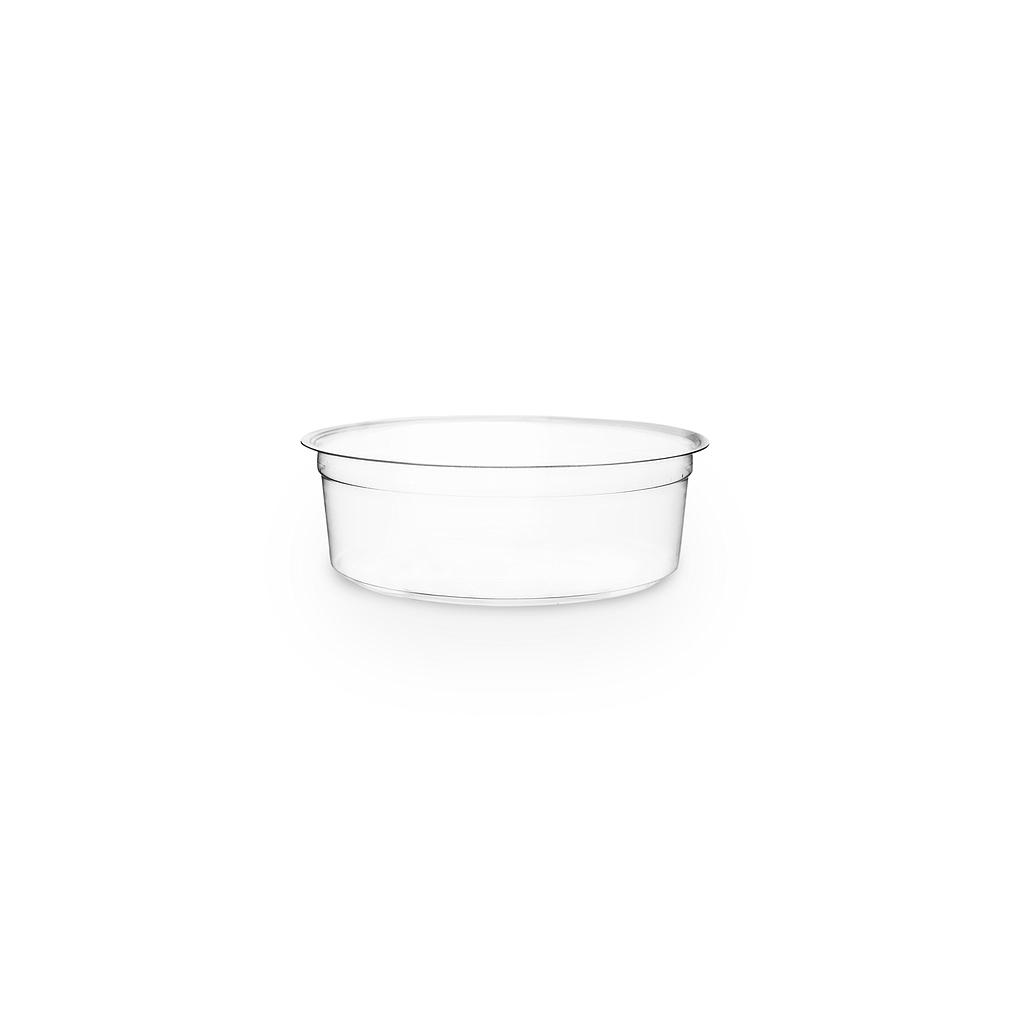 *SPECIAL ORDER ITEM* 8 oz PLA round deli container, clear, compostable, 500/cs *SEE DETAILS BELOW*