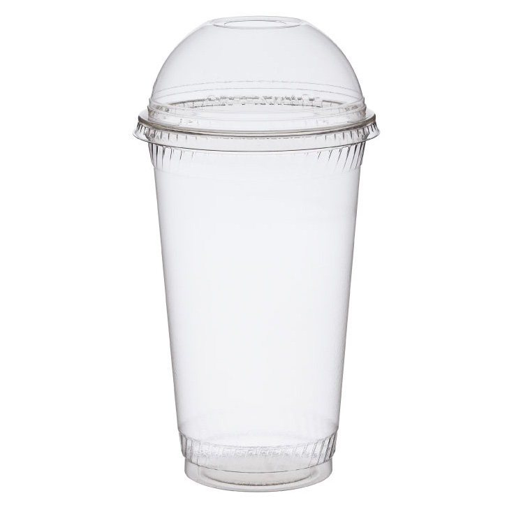 "*SPECIAL ORDER ITEM* Dome lid with 1"" hole, Material: PLA, Color: Clear, Fits 9, 12 & 20 oz cold cups, Compostable, 1000/cs *SEE DETAILS BELOW*"