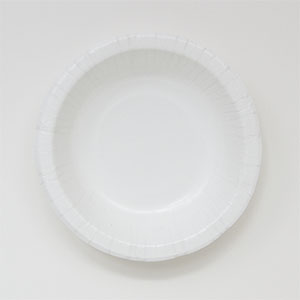 Paper Bowl, Size: 20 oz, Color: White, Material: Clay Coated Paper, Compostable, 250 / cs