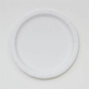 "Paper Plate, Size: 7"", Color: White, Material: Clay Coated, Compostable, 250/cs"