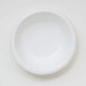 Paper Bowl, Size: 12 oz, Color: White, Material: Clay Coated Paper, Compostable, 500/cs