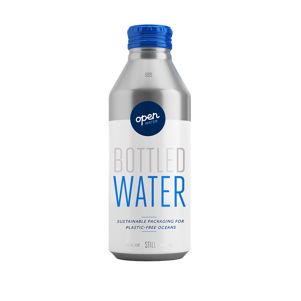 16 oz Still Water in Aluminum Reusable, Recyclable Bottle, 12/cs