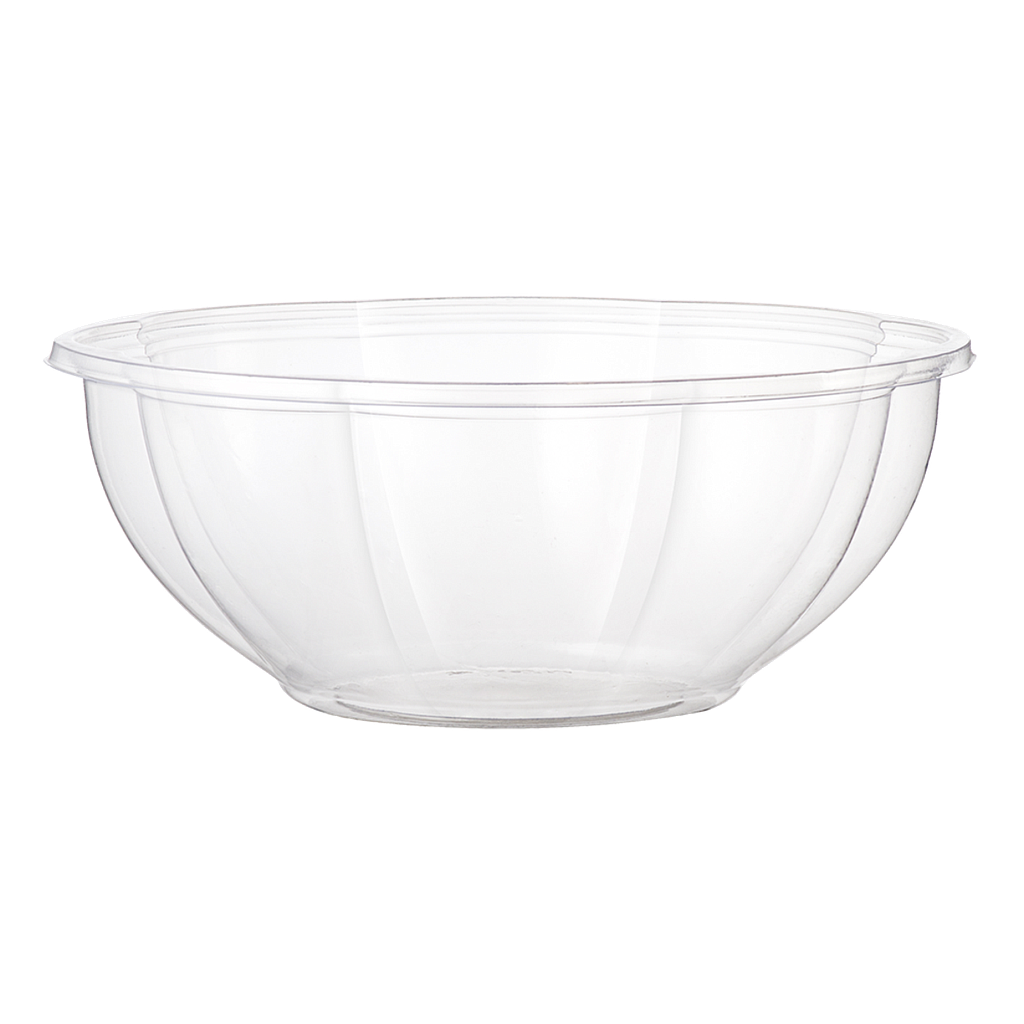 *SPECIAL ORDER ITEM* 24 oz Round Salad Bowl, Material: PLA, Color: Clear, Compostable, 600/cs *SEE DETAILS BELOW*