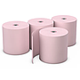 "Register roll, bond paper, 1-ply, color: pink, size: 3"" x 165', 50/cs"